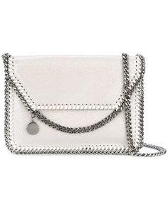сумка на плечо с цепочной окантовкой Stella McCartney