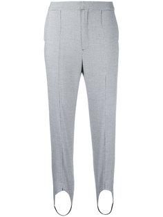 Houndstooth strap detail trousers  Le Ciel Bleu