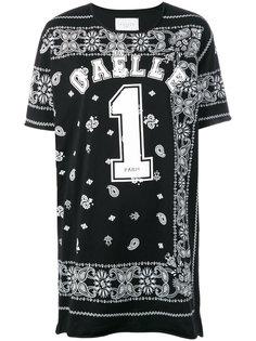 платье с принтом-логотипом Gaelle Bonheur