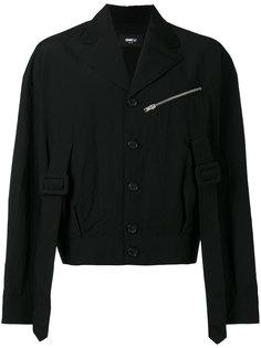 укороченная куртка с ремешками Yang Li