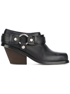 ring-detail ankle boots  Wanda Nylon