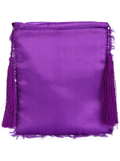 fringed clutch Attico