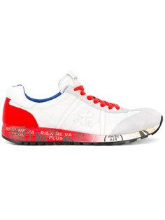 кроссовки с контрастными деталями Premiata White