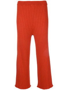 knitted cropped trousers  Le Ciel Bleu