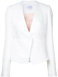 textured fitted jacket Carven