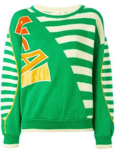 свитер в полоску с логотипом Kansai Yamamoto Vintage