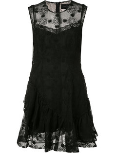 sheer floral embroidered dress Simone Rocha