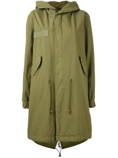 hooded parka coat Mr & Mrs Italy
