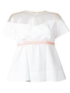 off shoulder blouse  Miahatami