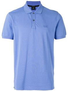 рубашка-поло с вышитым логотипом Boss Hugo Boss