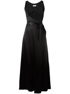 платье с завязкой на талии Attico