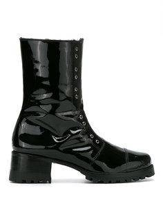 combat boots Andrea Bogosian