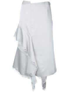 юбка с асимметричной драпировкой Irene