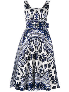 flared printed dress  Samantha Sung