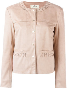 stitched detail jacket Urbancode
