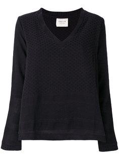 v-neck blouse  Cecilie Copenhagen