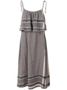 ruffled midi dress Cecilie Copenhagen