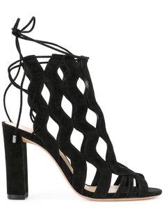 туфли с вырезными деталями Alexandre Birman