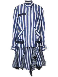 striped dress Sacai