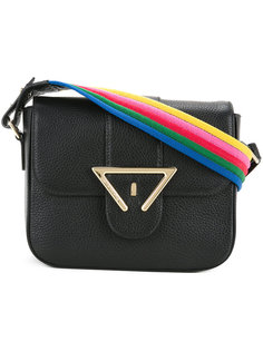 striped strap shoulder bag Sara Battaglia