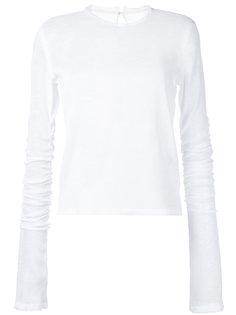 сетчатая блузка с длинными рукавами  Irene