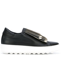 fringed slip-on sneakers  Philippe Model
