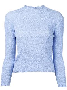 блузка с гофрированной отделкой Irene