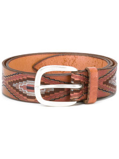 Mexican printed belt  Orciani