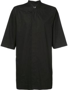 рубашка без воротника Rick Owens