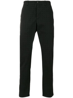 perforated chino trousers YMC