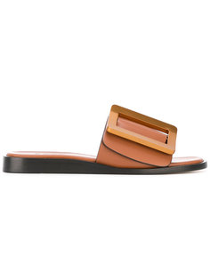 сандалии с объемной пряжкой Boyy