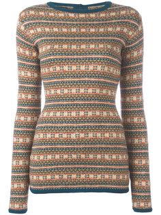 жаккардовая блуза в полоску Jean Paul Gaultier Vintage