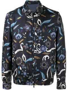 двухсторонняя куртка с цветочным принтом Fendi
