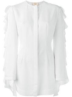 ruffled shirt  Sara Battaglia