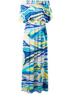 пляжное платье с принтом  Emilio Pucci