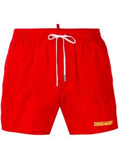 logo printed swim shorts Dsquared2