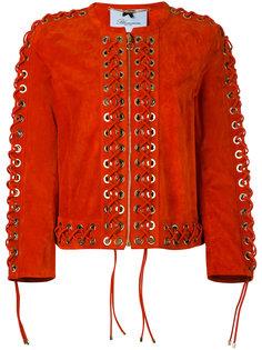 пиджак со шнуровкой  Blumarine