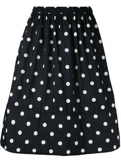 А-образная юбка с горошек Comme Des Garçons