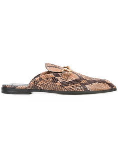 python-effect loafers Stella McCartney