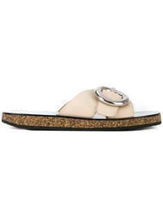 сандалии с круглыми пряжками Joseph
