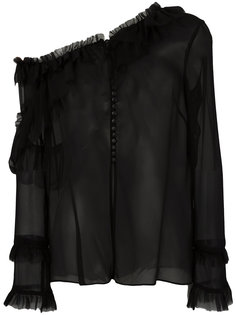 блузка на одно плечо Magda Butrym
