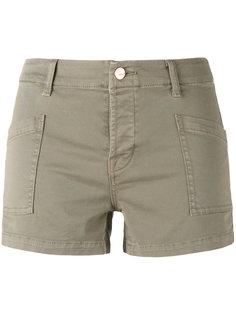 шорты с прорезными карманами J Brand