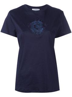 футболка с вышивкой Carven