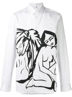рубашка с принтом Oamc