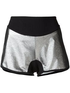 metallic shorts Sàpopa