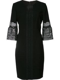 платье с вязаными манжетами Elie Tahari