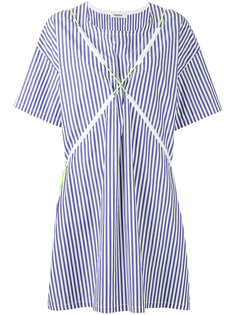 striped T-shirt dress Marios
