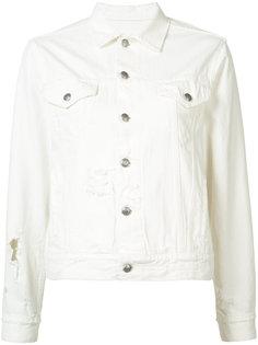 укороченная джинсовая куртка R13