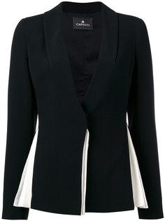 pleated blazer Capucci
