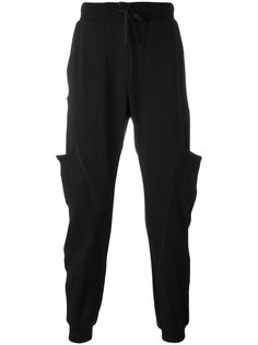 side-pocket track trousers Andrea Yaaqov